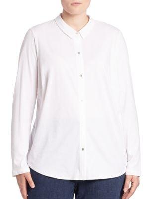 Organic Cotton Shirt plus size,  plus size fashion plus size appare