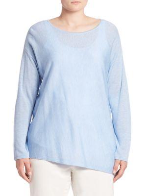 Asymmetrical Sweater plus size,  plus size fashion plus size appare