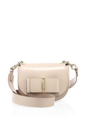 Anna Leather Saddle Bag