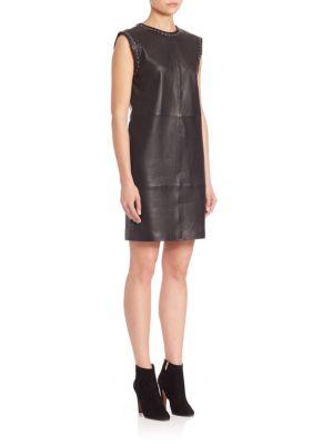 Rochie scurtă SET Leather