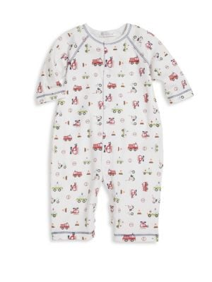 Baby's First Responder-Print Pima Cotton Coverall