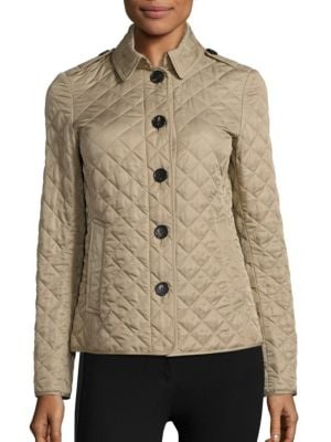 Ashurst Quilted Canvas Coat