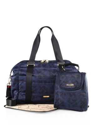 Sandy Printed Diaper Bag