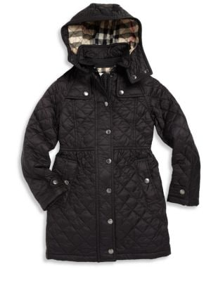 Little Girl's & Girl's Foxmoore Quilted Coat