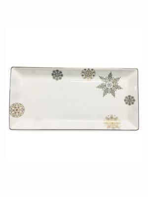 Winter Crystal Sandwich Tray