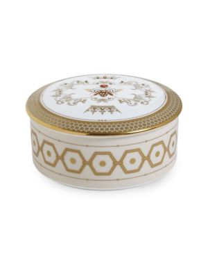 Honeydew Bone China Jewelry Box