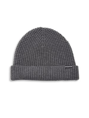 Stretchy Wool-Blend Cap