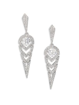 Stella Pavé Crystal Drop Earrings
