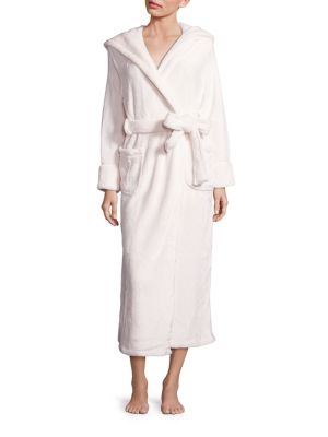 Silk Wrap Hooded Robe