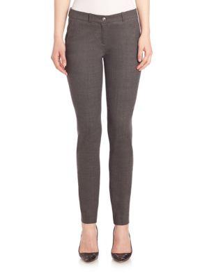 michael kors female 217293 samantha stretch tropical wool pants