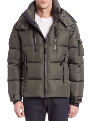 Quilted Goose Down Jacket