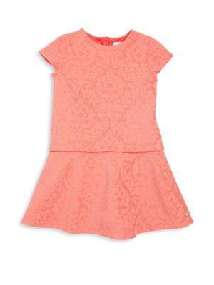 Toddler's & Little Girl's Solid Dress