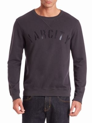 Varcity Cotton Pullover