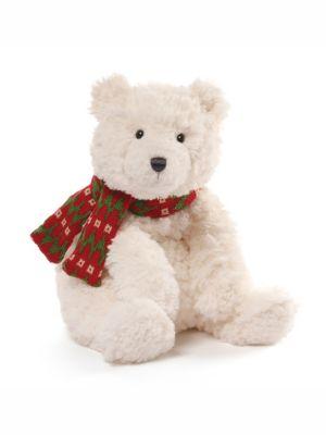 Teddy Bear with Woolen Scarf Soft Toy