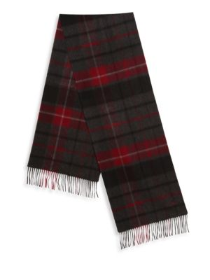 Plaid Patterned Cashmere Scarf