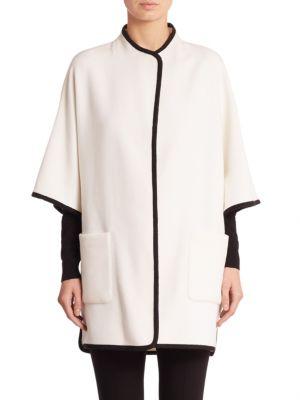 Wool Cape Jacket