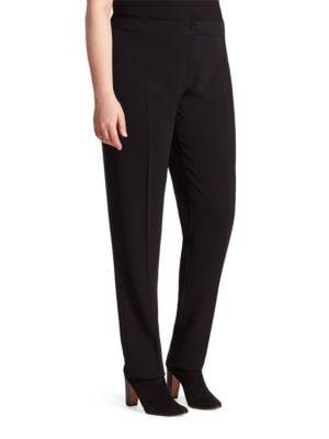Renoir Straight-Leg Pants plus size,  plus size fashion plus size appare
