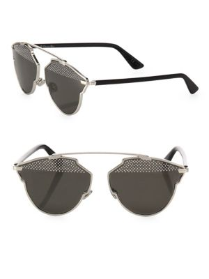 So Real 48MM Studded Pantos Sunglasses