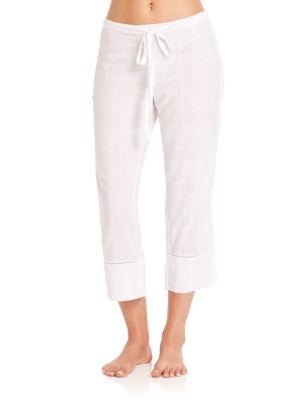 Shadow Plaid Pants