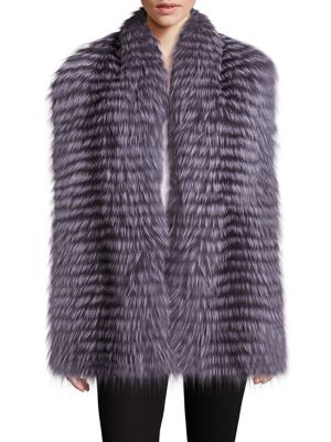 Wren Fox Fur Scarf
