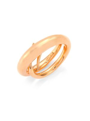 Unchained Ring/Rose Goldtone