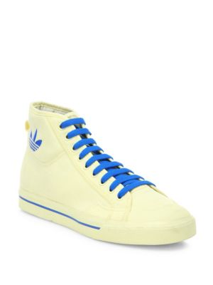 Lace-Up Style High Top Sneakers