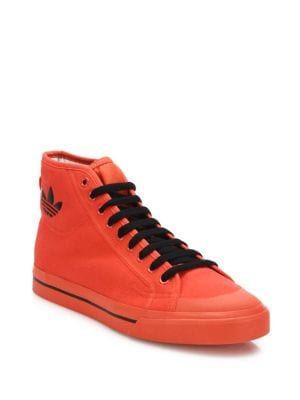 Canvas Round Toe Sneakers