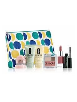 Receive a free 7-piece bonus gift with your $50 Clinique purchase & code