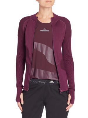 adidas by stella mccartney female 124318 run engineered jacket