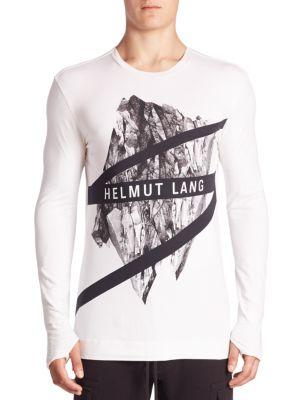Glacial Print T-Shirt
