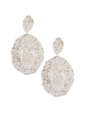 Vintage Lace Drop Earrings