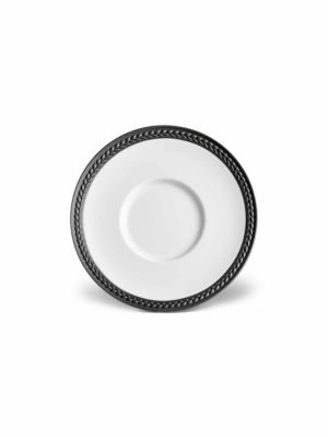 Soie Tressee Collection Braided Porcelain Plate