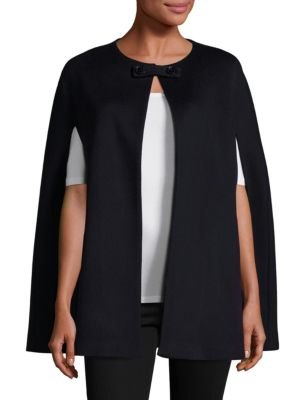 COLLECTION Anna Wool and Cashmere Cape