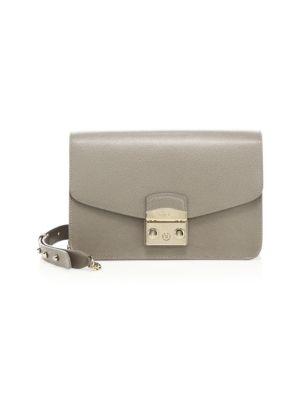 Metropolis Leather Shoulder Bag