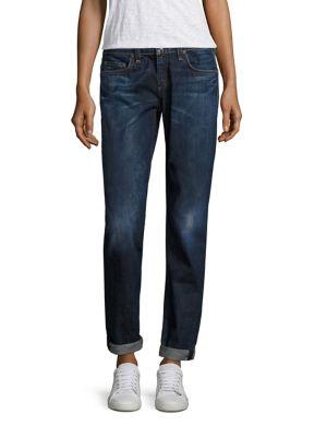 Dre Crop Jeans with Cuff