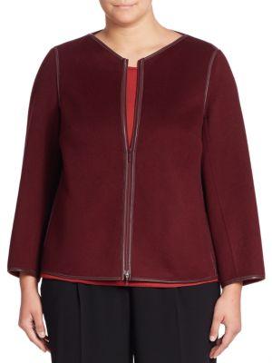 Keaton Wool & Cashmere Jacket plus size,  plus size fashion plus size appare