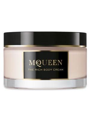 McQueen The Rich Body Cream/6.0 oz.