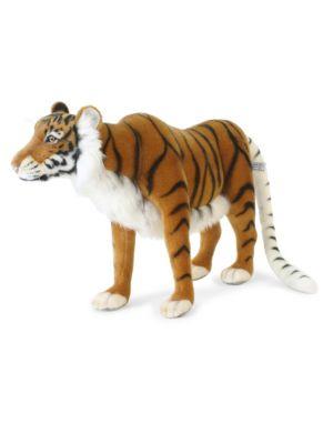"14"" Caspian Tiger Plush Toy"