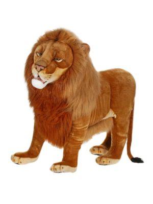 "41"" Ride-On Lion Plush Toy"