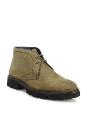 Lug Sole Chukka Boots