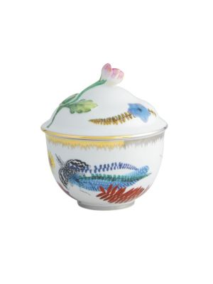 Caribe Porcelain Sugar Bowl