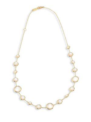 Rock Candy® Lollipop® Clear Quartz & 18K Yellow Gold Short Necklace