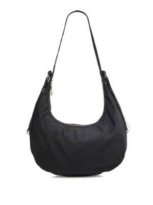 elizabeth and james female 188971 zoe large nylon hobo bag