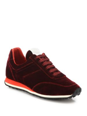 Dylan Velvet Sneakers