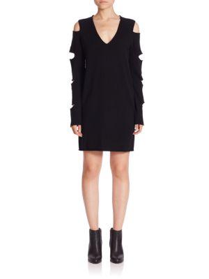 Tyrone Slash Sleeve Sweater Dress