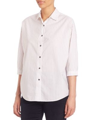 Poets Striped Shirt by M.i.h Jeans
