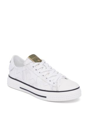 Star Leather Low-Top Sneakers