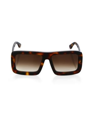 DAX GABLER Gradient Square Sunglasses