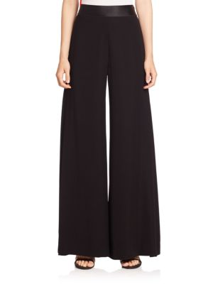 Stone Wide-Leg Pants plus size,  plus size fashion plus size appare