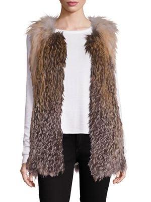 Fox Fur Vest by Doma